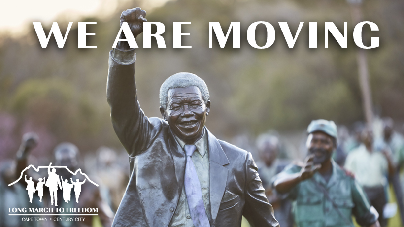 The Long March To Freedom is Moving to Cape Town